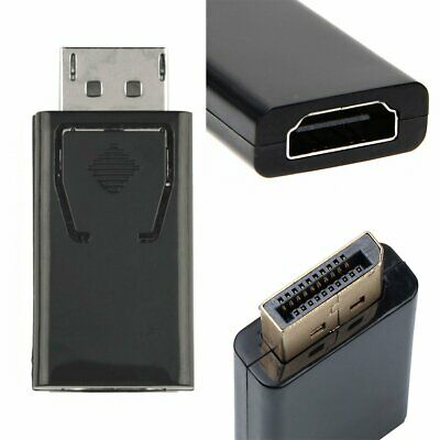 Display Port to HDMI Male Female Adapter Converter DisplayPort DP to HDMI 1080P