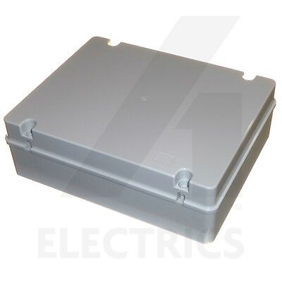 X-Large Junction Box 380mm x 300mm x 120mm Waterproof Electrical Panel Enclosure