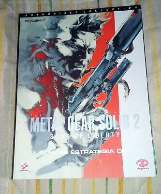 Guia Metal Gear Solid 2 ps2 pal España español oficial