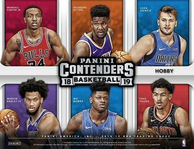 2018-19 Panini Contenders Basketball - PICK YOUR CARD - COMPLETE YOUR SET #1-100