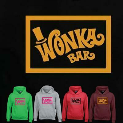 Willy FACTORY WONKA BUCKET BAR MENS GIFT Family FUNNY CHARLIE Classic Movie Fan