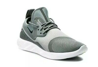 New Ladies Girls Boys Nike Lunarcharge Grey White Gym Running Trainers UK Size 5