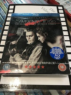 Sweeney Todd - The Demon Barber of Fleet Street (Blu-ray, Steel book)