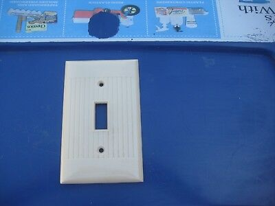 Vintage * SIERRA ELECTRIC * 1-Gang Toggle Switch Wall Plate Lot of 1 USA