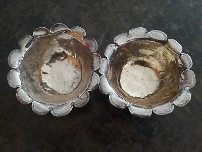 Asian Sterling Silver Bowls Asian Marks