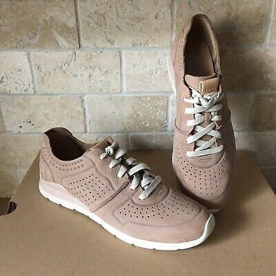 980ea85509c WOMEN'S SHOES UGG Tye Lace Up Leather Perforated Sneakers 1016674 ...