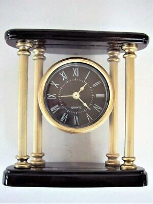 VINTAGE PORTICO MANTEL CLOCK - quartz movement