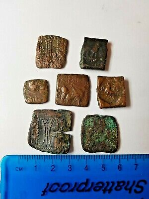 Baktria, Bronze Units, seven of. Buyer to identify. mixed sizes and weights