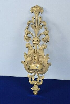 Antique Bronze Decorative Rococo Style Wall Candelabra/Candle Sconce 14""