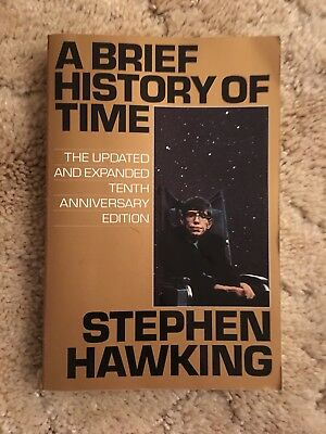 STEPHEN HAWKING A Brief History of Time Updated Tenth Anniversary Edition PB