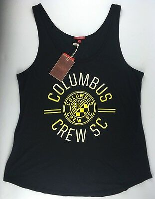 uk availability c0ede ffd40 COLUMBUS CREW SC Women s XL Tank Top Shirt Soccer Club Football Black NWT