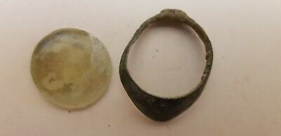 Rare Superb Bronze Age Jewelry With Quartz Stone, Urartu, 13 - 8  C. B.c.