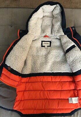 066a4359a07 LANDS END BOYS Expedition Parka Winter Down Coat size 7 - $14.99 ...