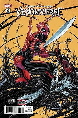VENOMVERSE #3 DEADPOOL VENOM Marvel Comics NM 2017