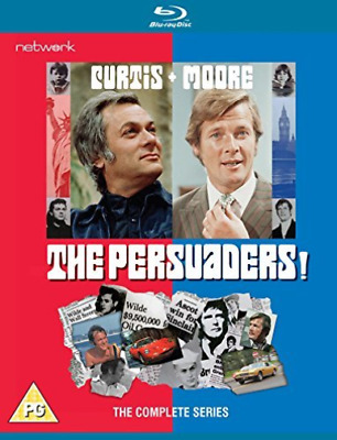 The Persuaders! The Complete Series (UK IMPORT) BLU-RAY NEW