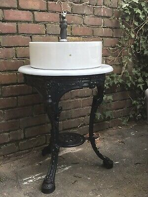 Bespoke Bathroom Vanity Unit Table, Marble Top, Basin, Tap And Trap Available.