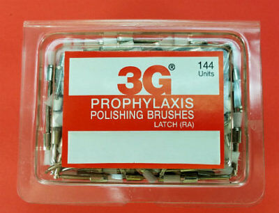 Dental Prophylaxis Polishing Brushes Brush Latch Type Box /144 Pcs 3G