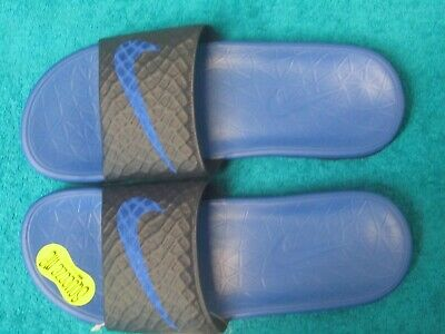 bcab8aff850c NEW NIKE SOLARSOFT Slides 386163-011 BLACK Sandals Nike Slippers ...