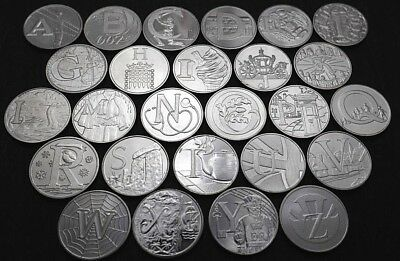 2019 Quintessentially British 10p Alphabet Coins - Great British Coin Hunt - New