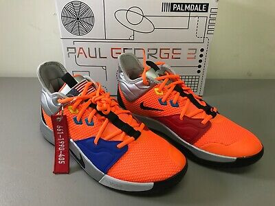 ec3731ba8ba2 NIKE PAUL GEORGE PG 3 Nasa Men s Size 11 NEW -  159.00