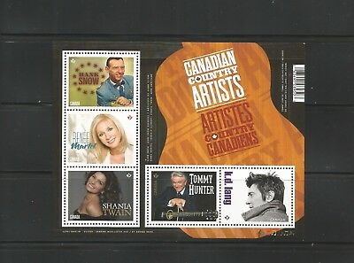 S/S   2765   Canadian Country Artists