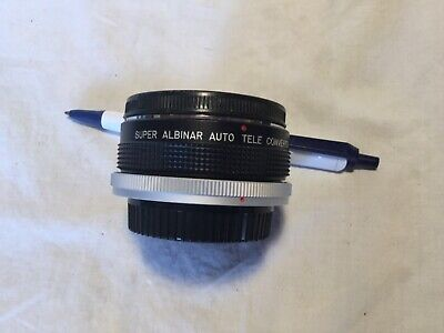 Super Albinar Auto Tele converter 2X  lens for Canon FD Japan