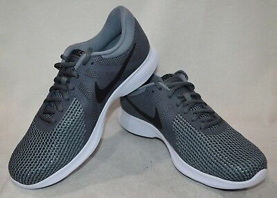 9f4427657e5b8 Nike Revolution 4 Dark Grey Black Men s Running Shoes - Size 13 NWB 908988-