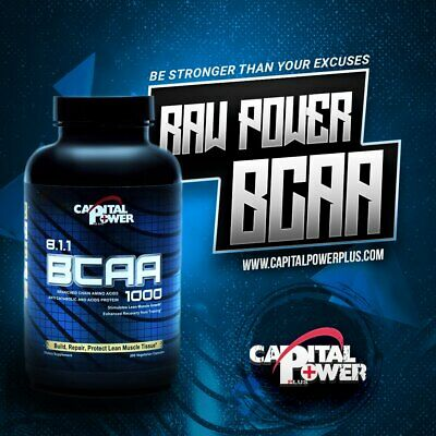 BCAA 8:1:1  Vegetarian  capsule Branched Chain Amino Acids