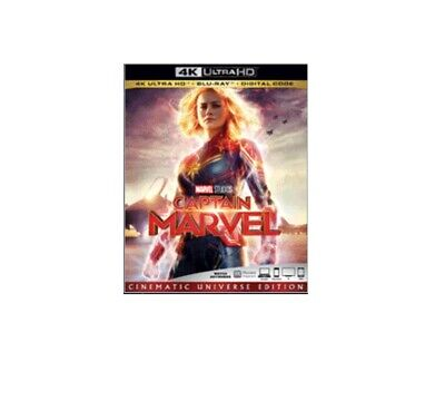 Captain Marvel 4k Ultra Hd Blu-Ray Digital Pre-Order Releases June 11, 2019