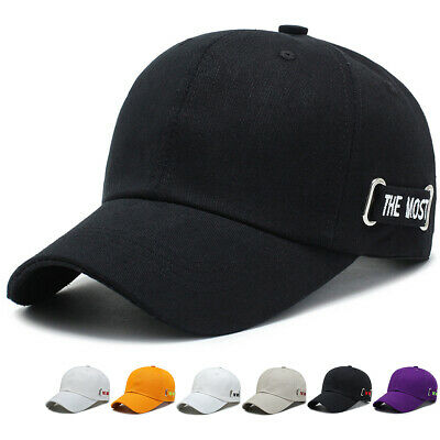 Men Women Snapback with Embroidery The Most Logo Cap Baseball Cotton Adjustable