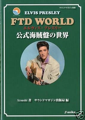 Elvis Presley FTD WORLD Bootleg Discography Book all 111 FTD Albums RARE F/S
