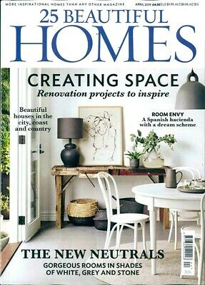 25 Beautiful Homes Magazine Issue April 2019 ~ New ~