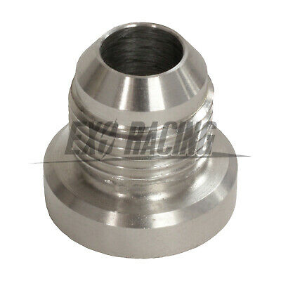 AN -8 AN8 -8JIC AN 08 Male Aluminium Weld On Fitting Round Base catch can tank