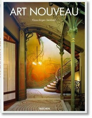 NEW Art Nouveau By Klaus-Jurgen Sembach Hardcover Free Shipping