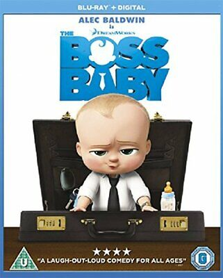The Boss Baby [Blu-ray] [2017] [DVD][Region 2]