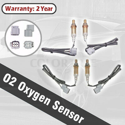 4X Down/&Upstream Oxygen Sensor 234-4694 234-4696 For 99-04 Land Rover Discovery