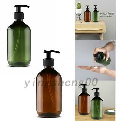4x500ml Hand Pump Soap Shampoo Dispenser Lotion Liquid Foam Bottle Container AU