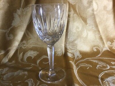 "Waterford crystal, Kildare,  6-1/2"" Claret Wine Glass,Plain Base, 7 available"