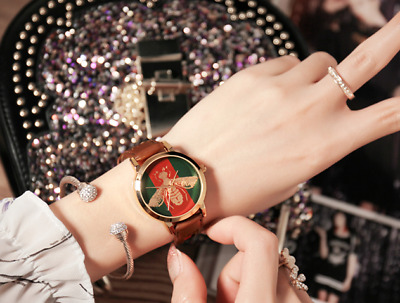 New Bee style leather Women fashion watch ~