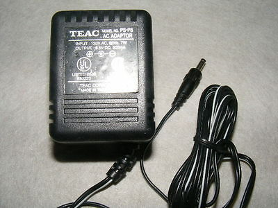 TEAC AC Adapter Model PS-P8 Power Supply