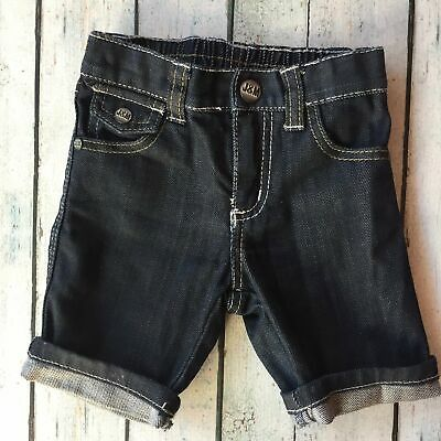 Jack & Milly Baby Boys Denim Shorts- Size 0