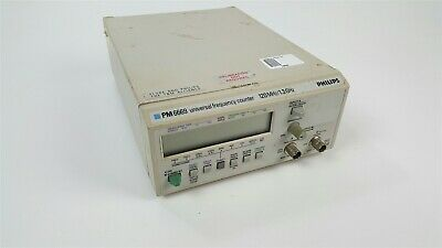 Philips PM 6669 Universal Frequency Counter 120MHZ / 1.3Ghz