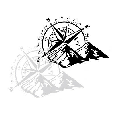 Compass Vinyl Sticker Decal Off Road Car Hood Side Body Waterproof