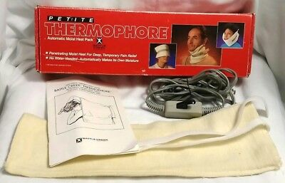 Thermophore Automatic Moist Heat Pack 007 Neck Heating Pad Battle Creek Petite