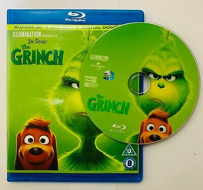 The Grinch 3D Blu-ray Region Free Buy Now Best Deal