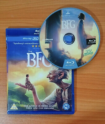 The BFG 3D Blu-ray Region Free Buy Now Best Deal