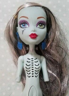 Monster High Doll Ghouls Alive Frankie Stein Nude No Arms For Ooak Untested