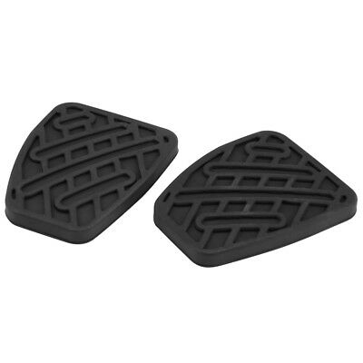 Pair Of Brake & Clutch Pedal Pad Rubber Cover For Nissan Qashqai 2007-2016