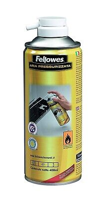 Bomboletta Spray aria compressa pressurizzata 400ml Fellowes Leonardi