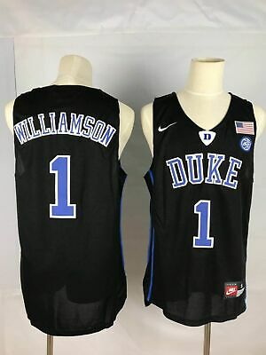 on sale 8880c 787b9 DUKE BLUE DEVILS Zion Williamson #1 mens jersey S-2XL ...
